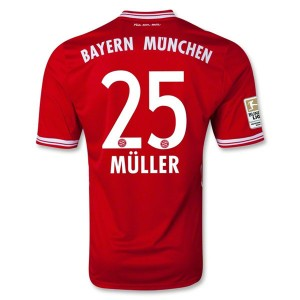 Camiseta nueva del Bayern Munich 2013/2014 Equipacion Muller Primera
