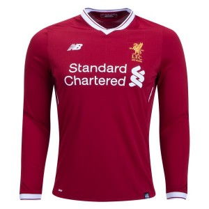 Camiseta nueva Liverpool Long Sleeve Home 2017/2018