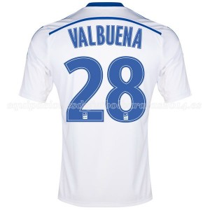 Camiseta del Valbuena Marseille Primera 2014/2015