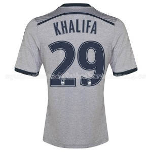 Camiseta nueva Marseille Khalifa Segunda 2014/2015