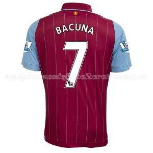Camiseta de Aston Villa 2014/15 Primera Bacuna Equipacion