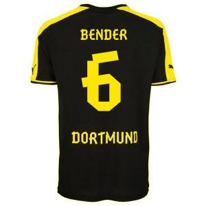 Camiseta nueva del Borussia Dortmund 2013/2014 Bender Segunda
