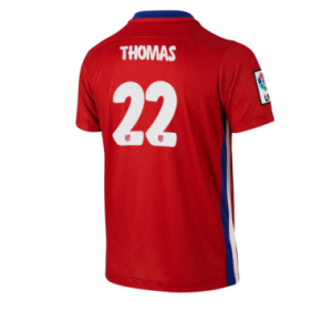 Camiseta nueva Atletico Madrid THOMAS Equipacion Primera 2015/2016