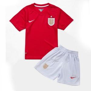 Camiseta Inglaterra de la Seleccion Segunda WC2014 Nino