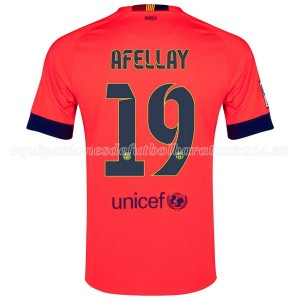 Camiseta nueva del Barcelona 2014/2015 Afellay Segunda