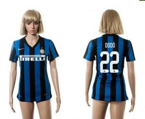 Camiseta de Inter Milan 2015/2016 22 Mujer