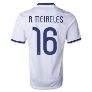 Camiseta de Portugal de la Seleccion 2013/2014 Segunda R.Meireles