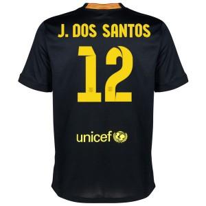 Camiseta nueva del Barcelona 2013/2014 J.Dos Santos Tercera