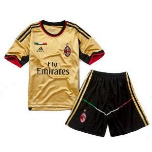 Camiseta de AC Milan 2013/2014 Tercera Equipacion Nino