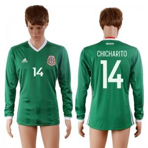 Camiseta Mexico 14# 2016-2017