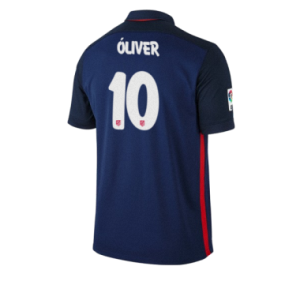 Camiseta del OLIVER Atletico Madrid Segunda Equipacion 2015/2016