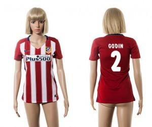 Camiseta Atletico Madrid 2 2015/2016 Mujer