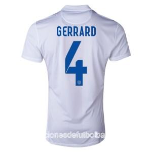 Camiseta nueva Inglaterra de la Seleccion Gerrard Primera WC2014