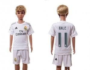 Camiseta nueva del Real Madrid 2015/2016 11 Niños Home