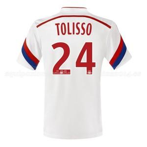 Camiseta nueva Lyon Tolisso Primera 2014/2015
