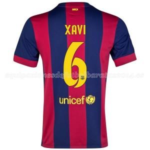 Camiseta del Xavi Barcelona Primera 2014/2015