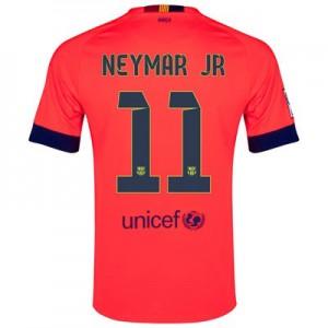 Camiseta de Barcelona 2014/2015 Segunda NEYMAR JR Equipacion