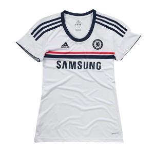 Mujer Camiseta del Chelsea Segunda Equipacion 2013/2014