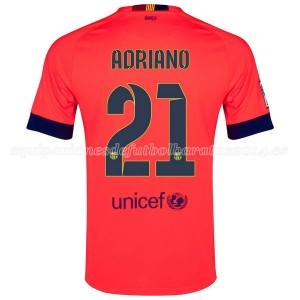 Camiseta Barcelona Adriano Segunda 2014/2015