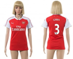 Camiseta de Arsenal 2015/2016 3 Mujer