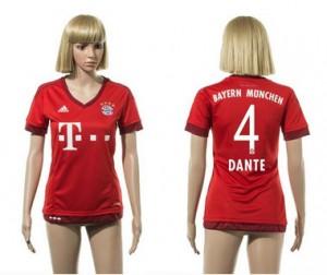 Mujer Camiseta del 4 Bayern Munich 2015/2016