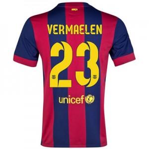 Camiseta de Barcelona 2014/2015 Primera VERMAELEN Equipacion