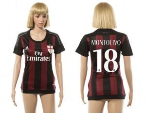 Camiseta de AC Milan 2015/2016 18 Mujer