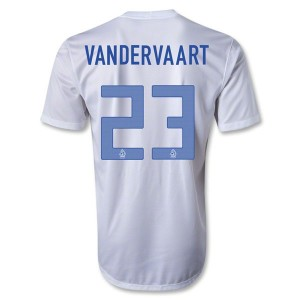 Camiseta nueva Holanda Vandervaart Segunda 2013/2014