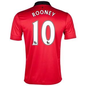 Camiseta de Inglaterra de la Seleccion 2013/2014 Primera Rooney