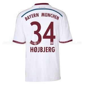 Camiseta del Hojbjerg Bayern Munich Segunda Equipacion 2014/2015