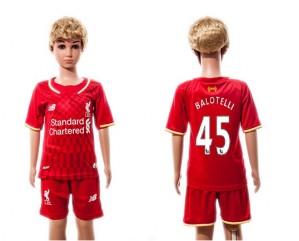 Camiseta Liverpool 45 2015/2016 Niños