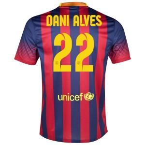 Camiseta de Barcelona 2013/2014 Primera Dani Alves