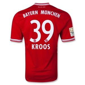 Camiseta del Kroos Bayern Munich Primera Equipacion 2013/2014