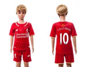 Camiseta nueva del Liverpool 2015/2016 10 Niños