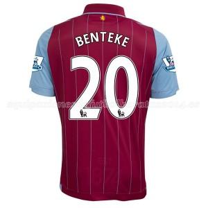Camiseta nueva Aston Villa Benteke Equipacion Primera 2014/15