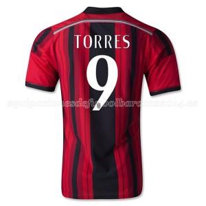 Camiseta AC Milan Torres Primera Equipacion 2014/2015