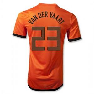 Camiseta Holanda Van Der Vaart Primera 2012/2014