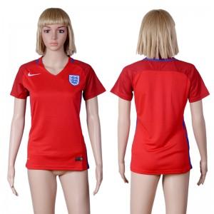 Camiseta de Inglaterra 2016 UEFA EURO Mujer