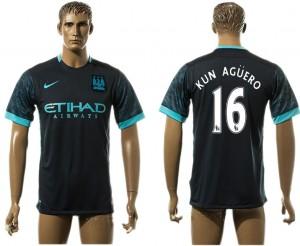 Camiseta del 16# Manchester City Away aaa version