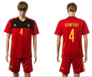 Camiseta Belgium 4# 2015-2016