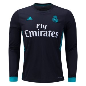 Camiseta nueva del Real Madrid 2017/2018 Long Sleeve Away