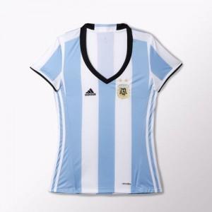 Camiseta de Argentina 2016 Home Mujer