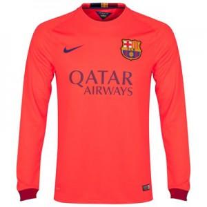 Camiseta nueva del Barcelona 2014/2015 Equipacion Segunda