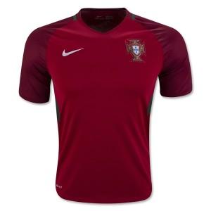 Camiseta Portugal Primera Equipacion 2016