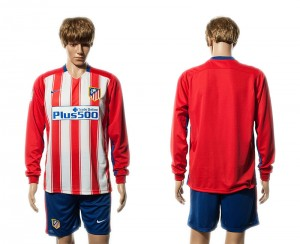 Camiseta Atletico Madrid Primera Manga Larga 15/16