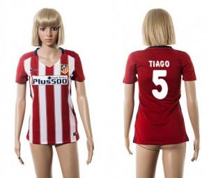 Camiseta nueva del Atletico Madrid 2015/2016 5 Mujer
