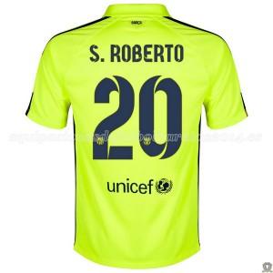 Camiseta de Barcelona 2014/2015 Tercera S.Roberto