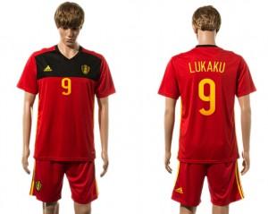 Camiseta del 9# Belgium 2015-2016