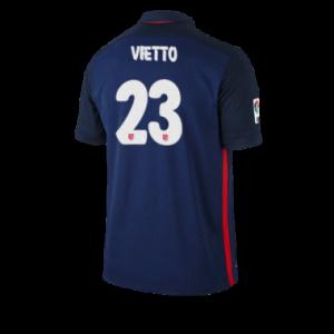 Camiseta nueva Atletico Madrid VIETTO Equipacion Segunda 2015/2016