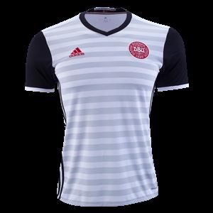 Camiseta nueva del Dinamarca de la Seleccion 2015 Segunda